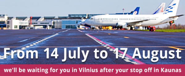 Vilnius Airport reconstruction